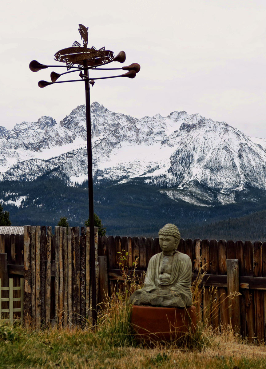 Yep. this could be Tibet, if only it were a different version of Buddha.