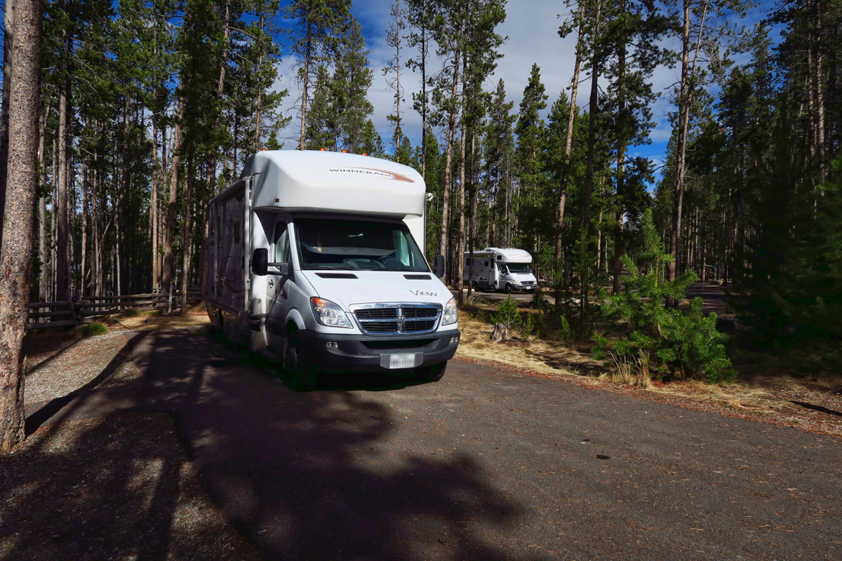 Site Nbrs 14 and 15 in Sockeye Campground.