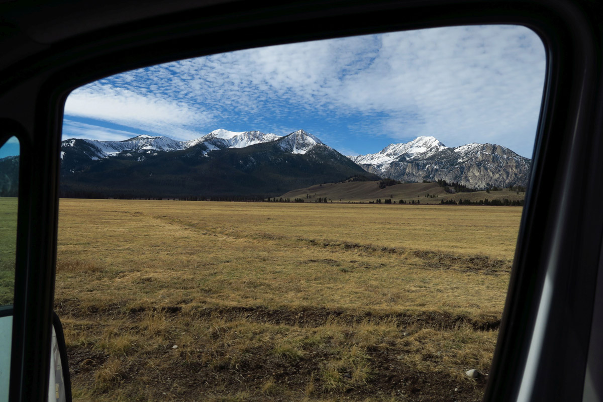Still, the drive out of the Sawtooth National Recreation Area is gorgeous.
