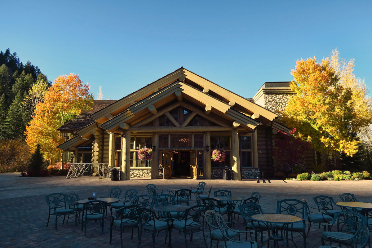 Beautiful lodge and events center in Sun Valley, Idaho