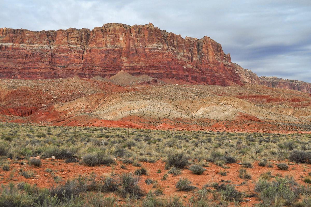 Vermillion Cliffs along Hwy 89