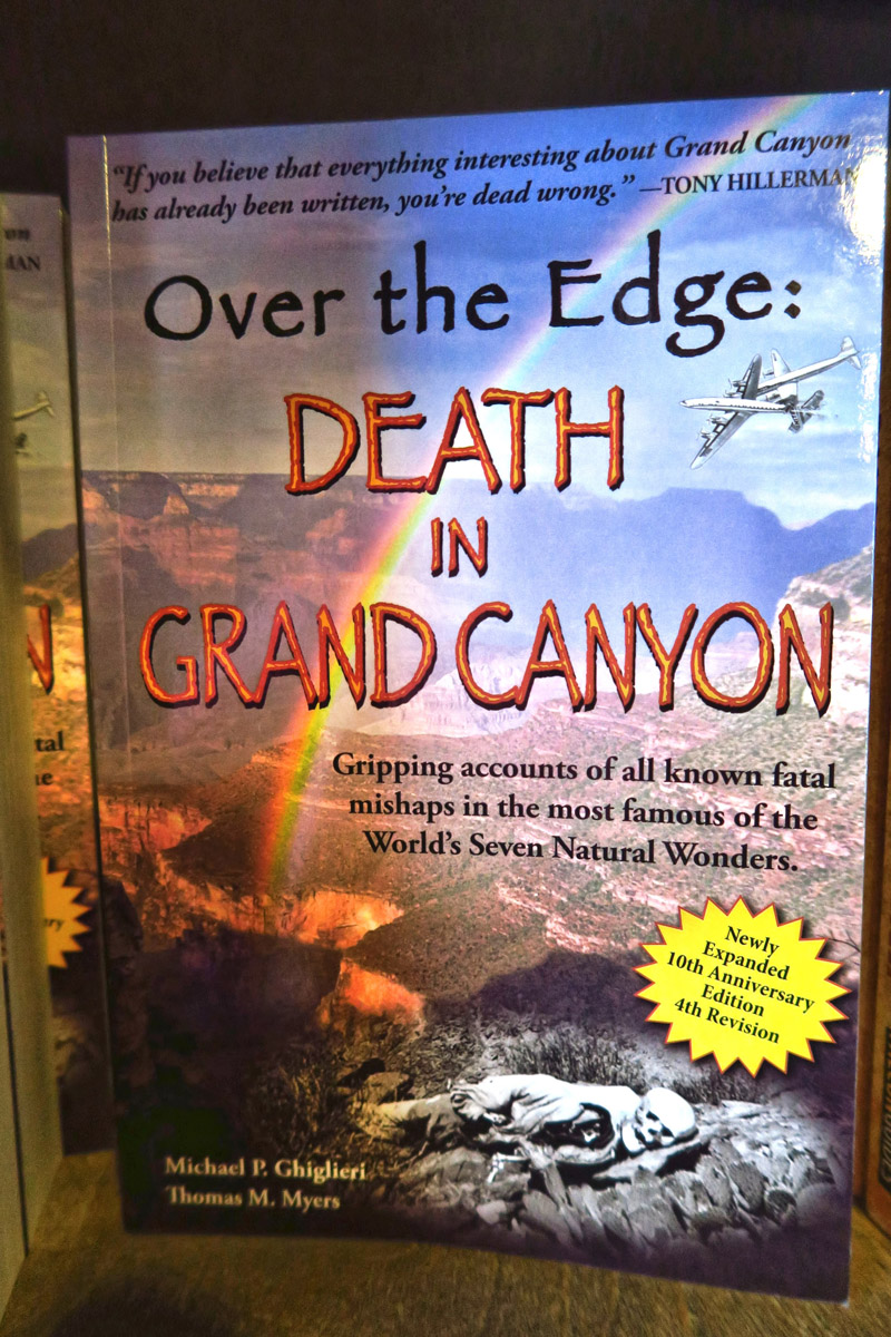 The most bizarre book I have seen yet in an NPS bookstore...