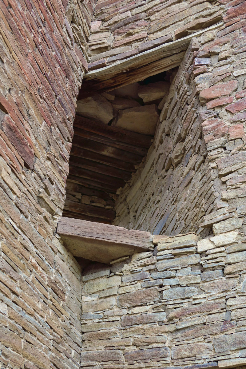 "One of the fascinating, sophisticated ""corner windows"" believed to have been built to observe the solar and lunar cycles."