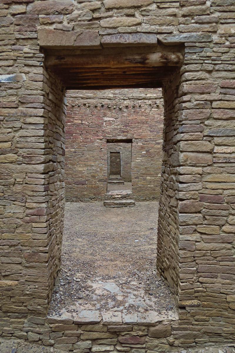 Puebla Bonita is a maze of rooms.