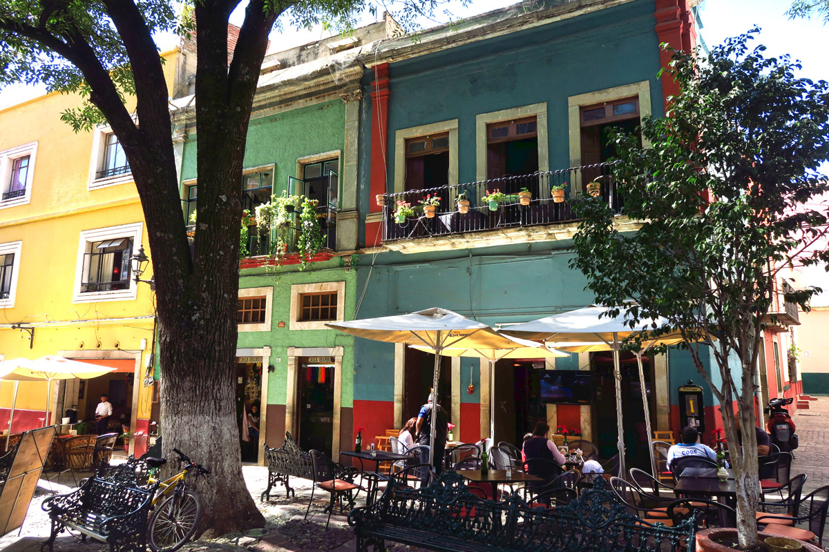 What Guanajuato may lack the leading edge culinary scene, it more than makes up for in ambiance.