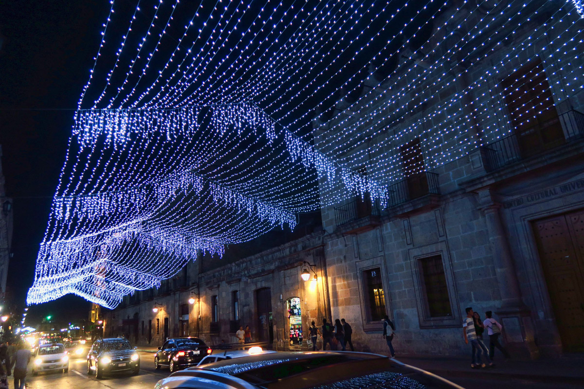 "Christmas decorations stay up longer in Mexico, because their main Christmas celebration, ""Kings Day"" happens two weeks later..."
