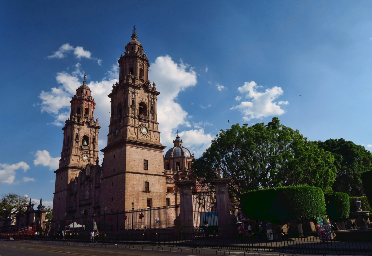 Weather is gorgeous in Morelia...