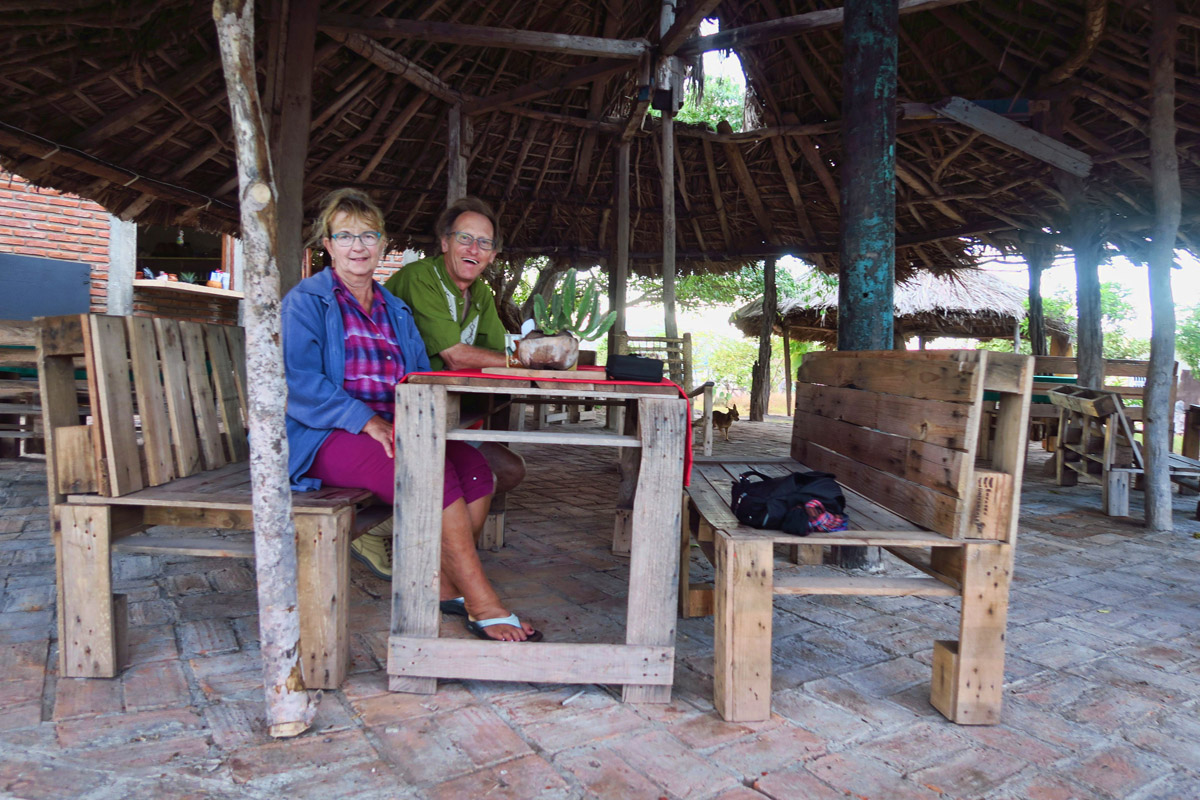 """This was my favorite restaurant on the beach, """"La Palapa del Che."""""""