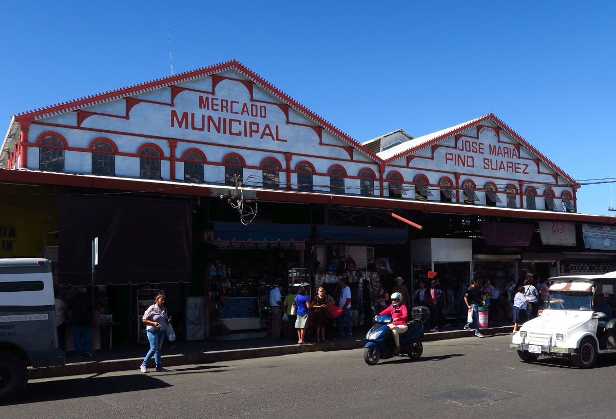 Mazatlan's Central Market, or Mercado Pino Suarez
