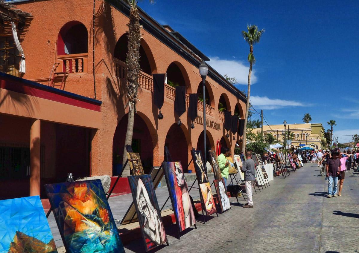 Art Festival in Todos Santos.