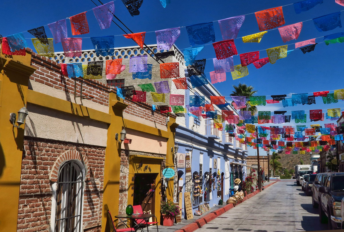 "Todos Santos, a Puebla Magico, or ""Magic Town"" is one of my favorite spots on the Baja. Touristy, yes, but tastefully so."