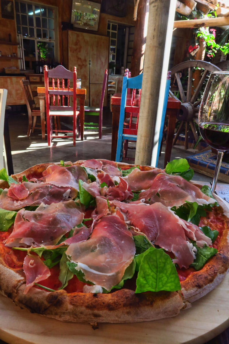 Owned by two Italian brothers, their wood-fired pizza is better than that found in the States.