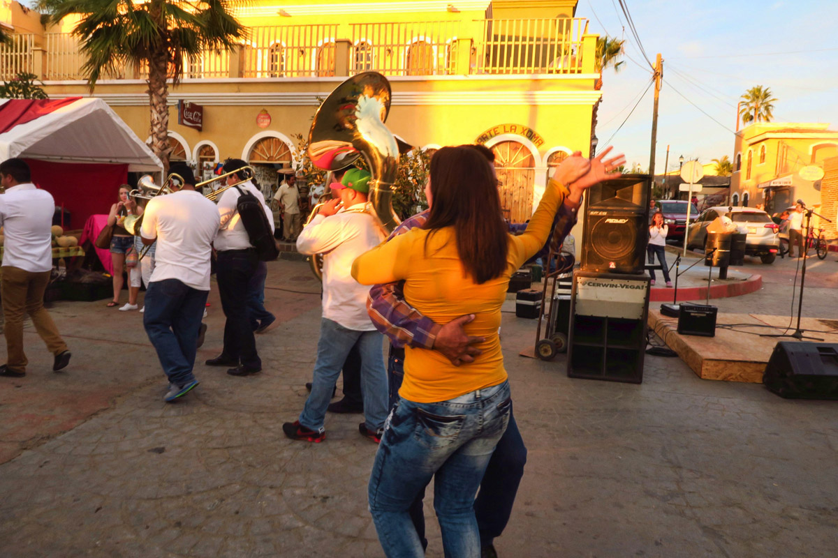 I loved watching people break out in dancing in the street.