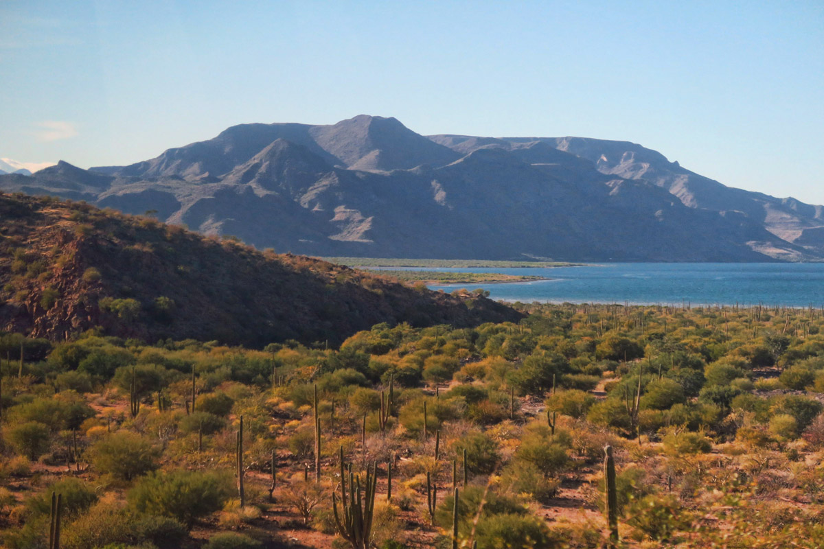 The highway between Loreto and Mulege is particularly scenic.