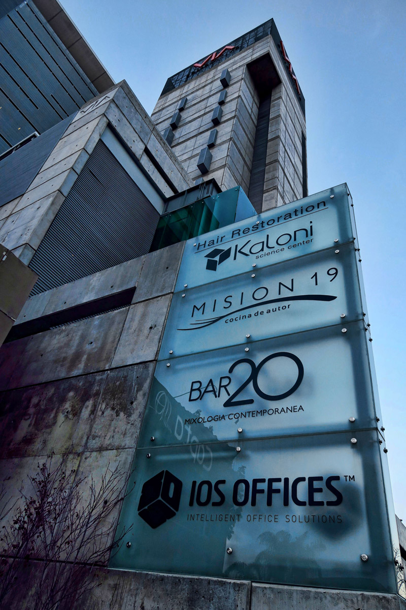 "I did not expect a restaurant with a name like ""Mision 19"" to be in a high rise office building."