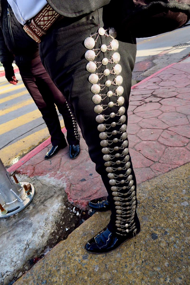 Pantalones de Mariachi
