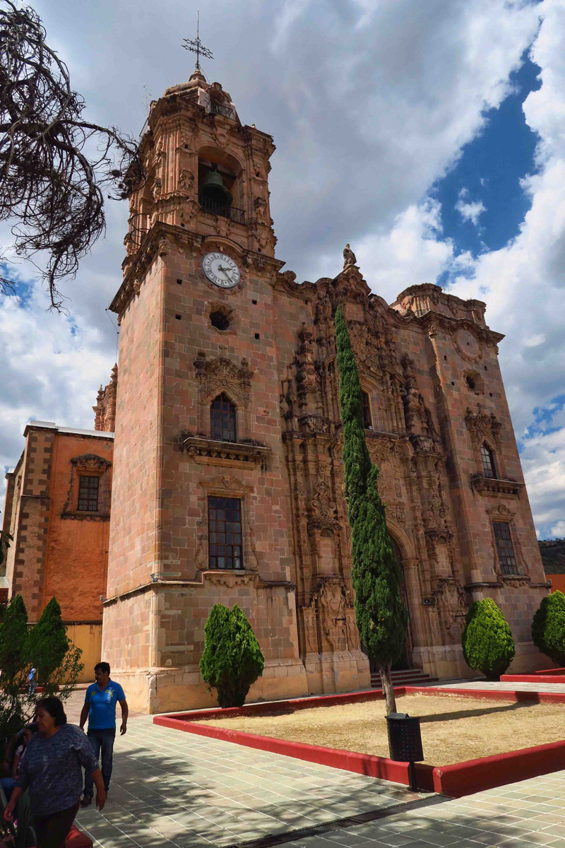 Beautiful Templo La Valenciana lost a bell tower due to deterioration. Hopefully UNESCO can protect the other one.