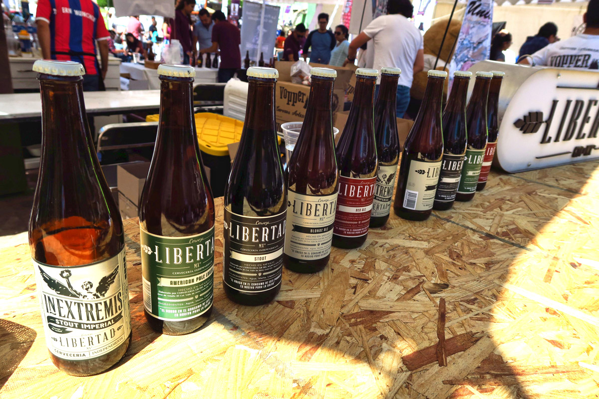 I think Libertad was my favorite stout...(at least from what I can remember!)