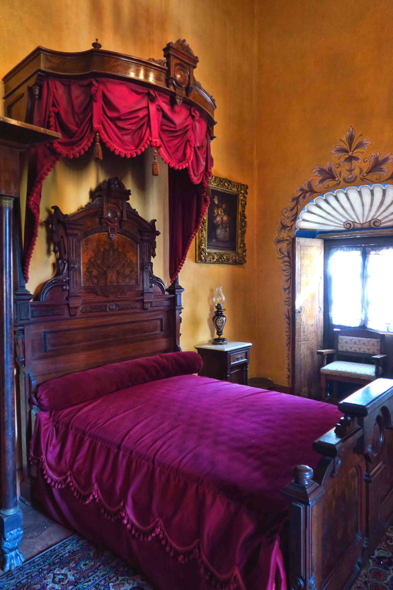 One of many bedrooms.