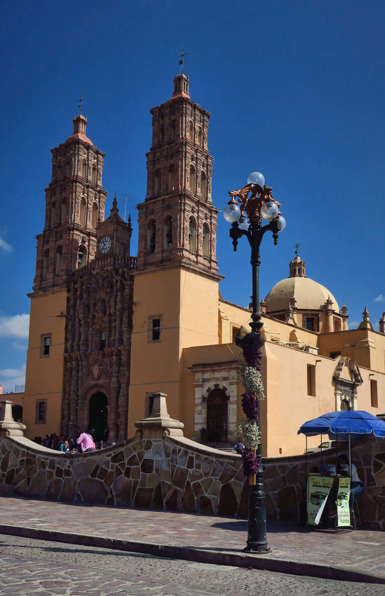 The Parroquia de Nuestra Señora de Dolores, sight where Mexico's independence from Spain was declared 16th Sept, 1810.