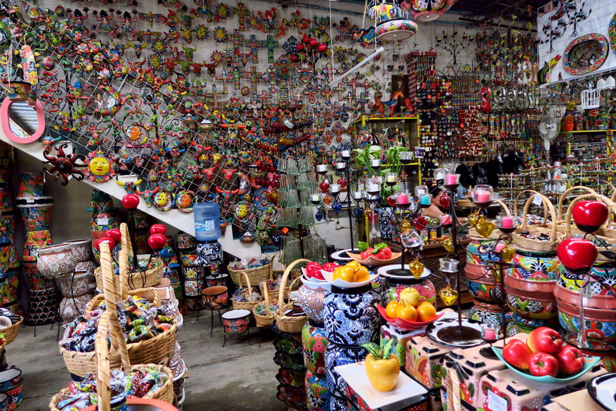 "The Talavera ceramic shops seem a bit more ""junky"" than I had imagined."