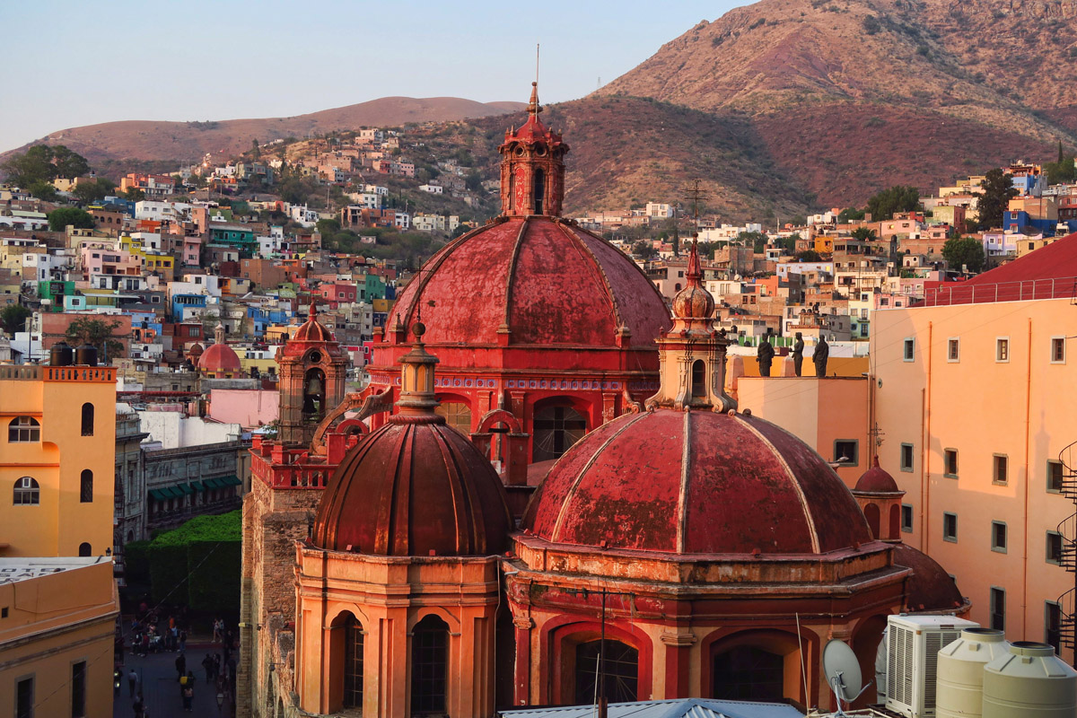 Many restaurants in Guanajuato offer a view, but I think this one has to be the best...
