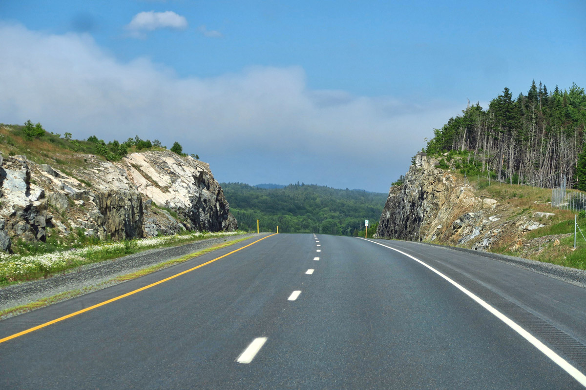 Trans-Canada Highway (TCH) is in much better condition than I expected.
