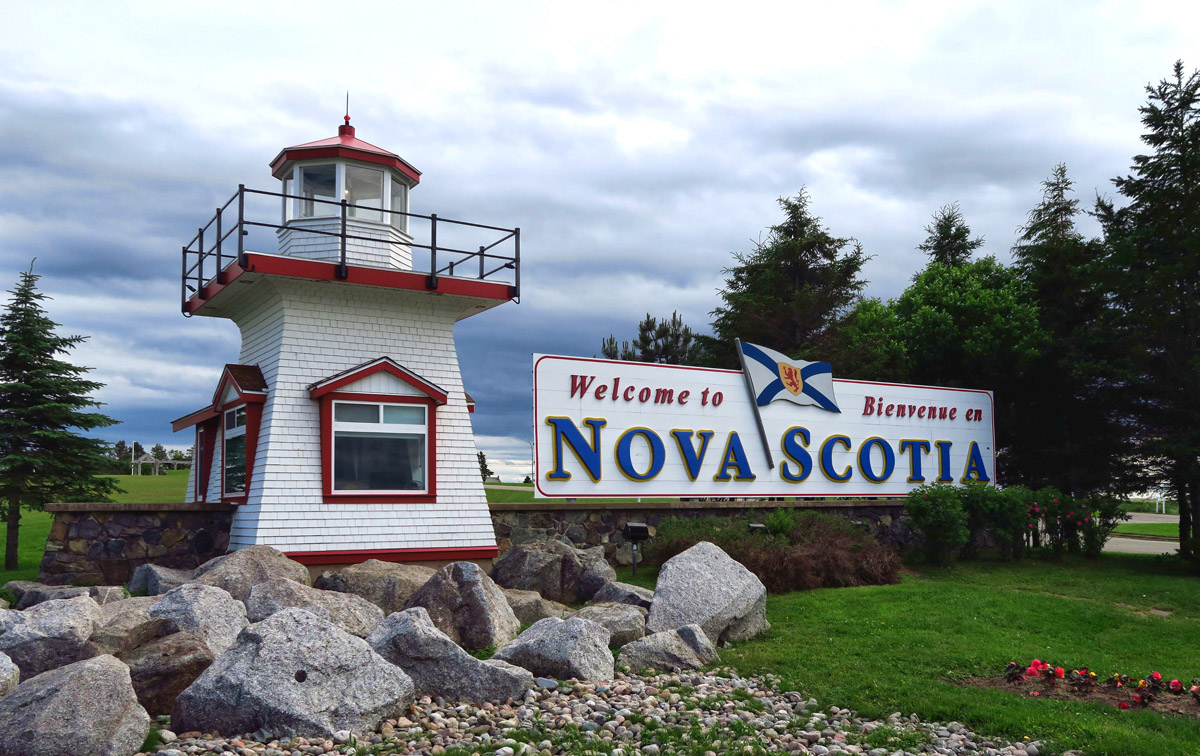 What's the first clue I am going to love Nova Scotia?