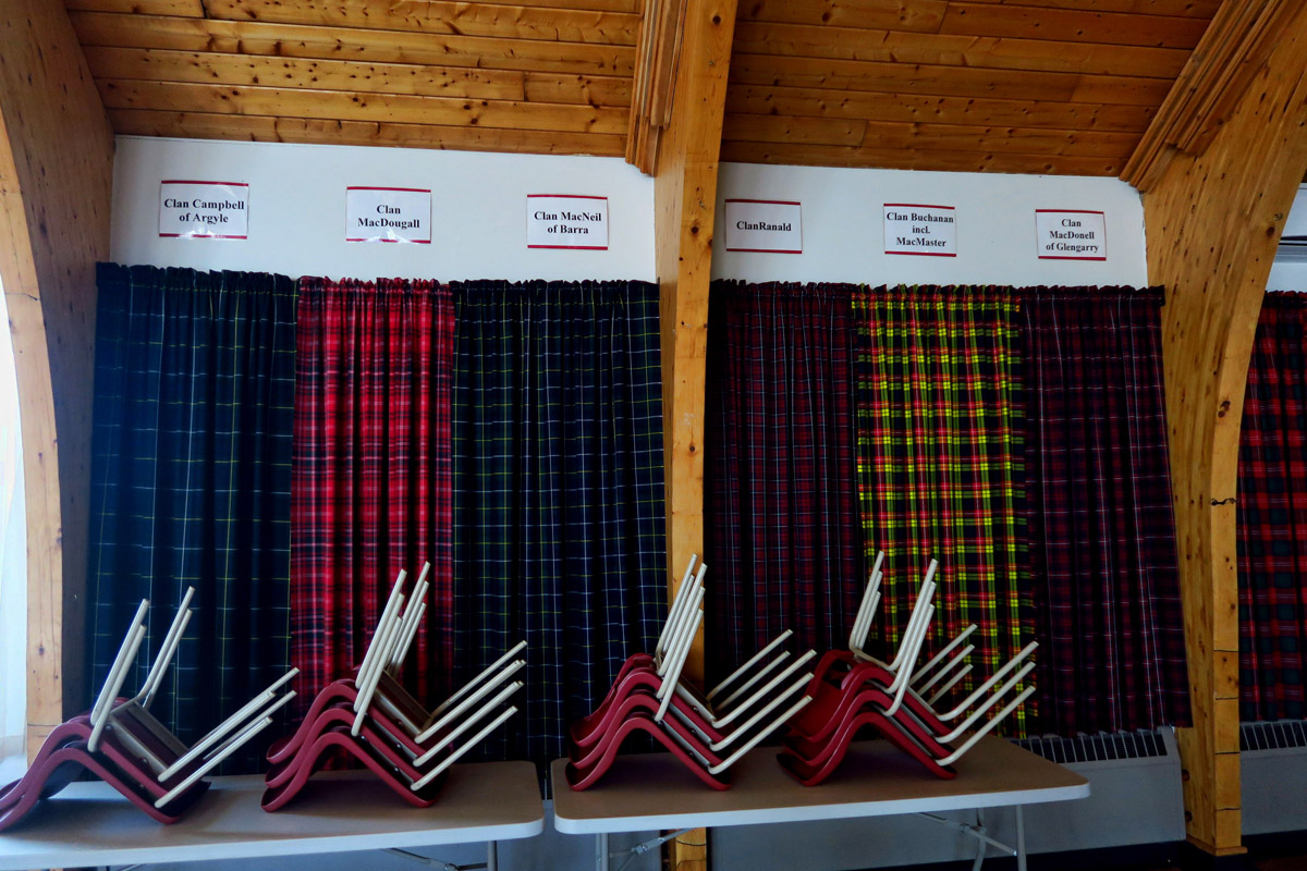 More tartan samples.