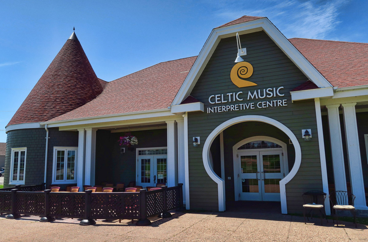 The Celtic Music Interpretive Center in Judique. Unfortunately, this is a bit of a ripoff as all exhibit rooms require paid admission.