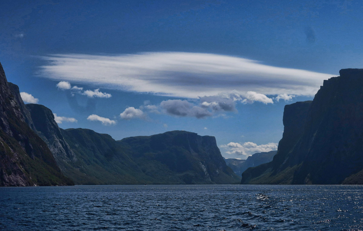 Lovely lenticular cloud!