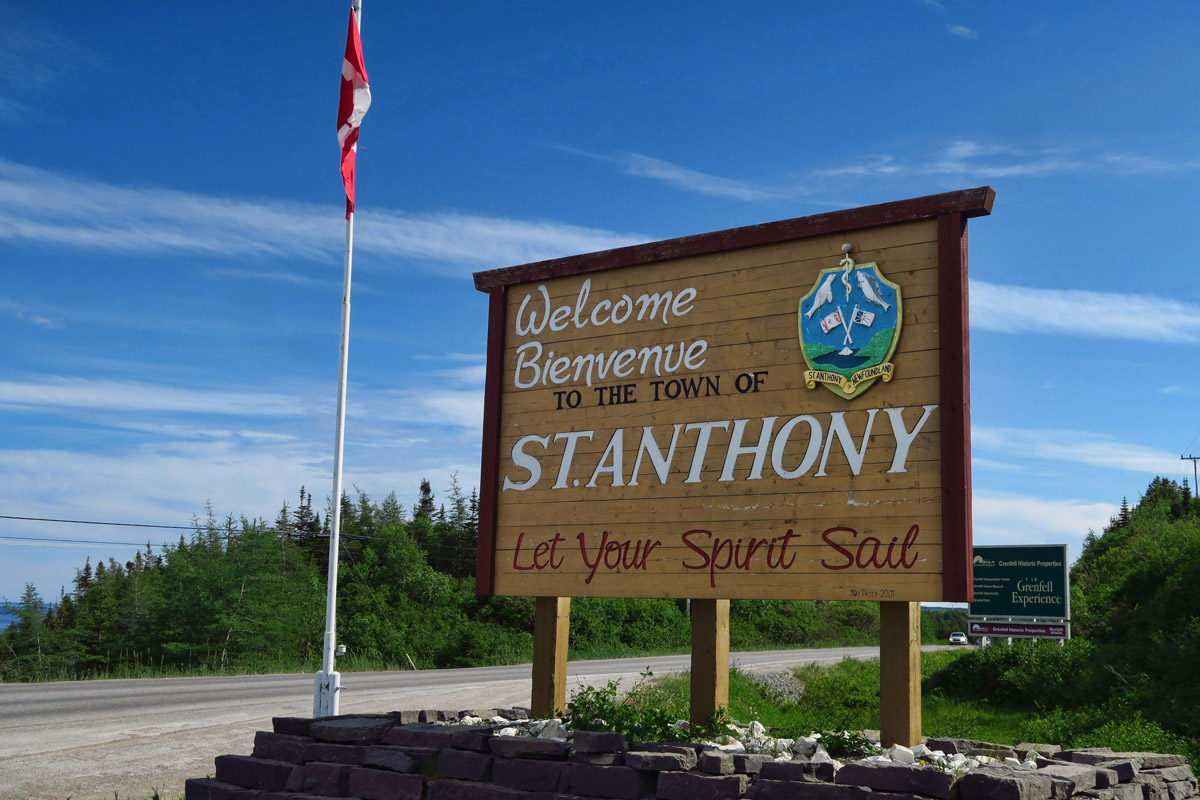 "I am excited to finally reach St. Anthony, which the locals pronounce ""Sin-Antny"" (For readers who may not know, Anthony is my last name.)"