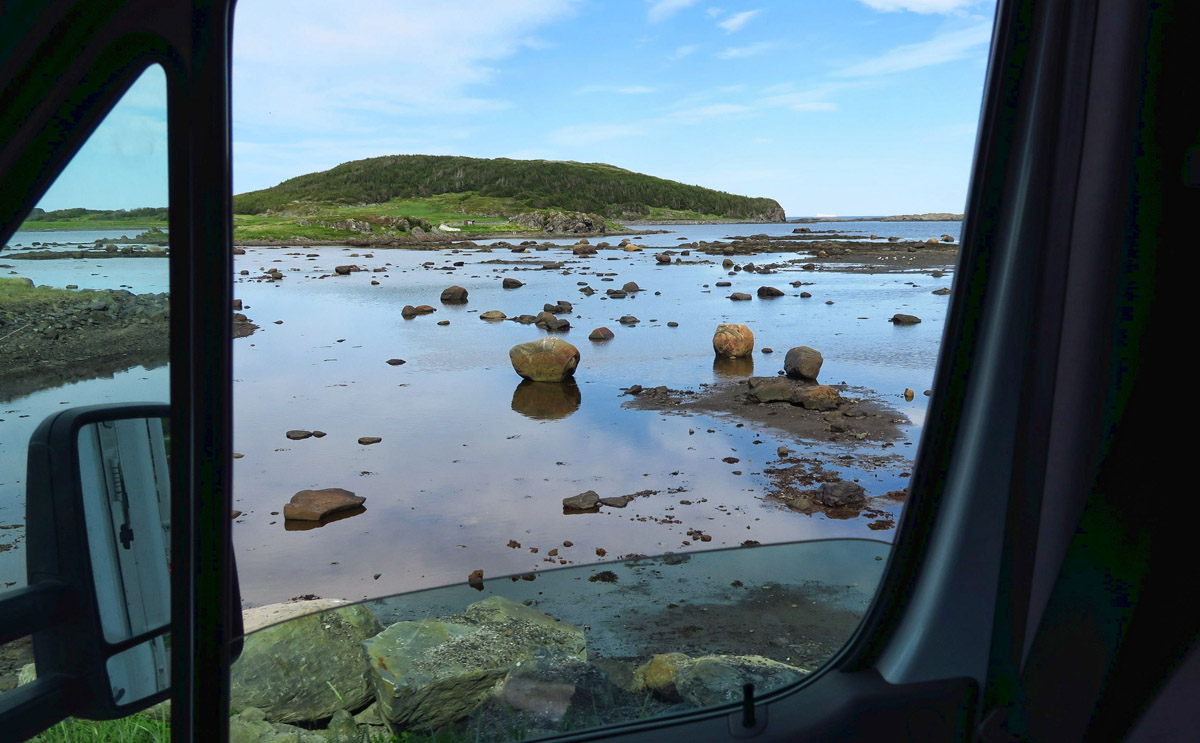 The road on up to L'Anse aux Meadows is very scenic.