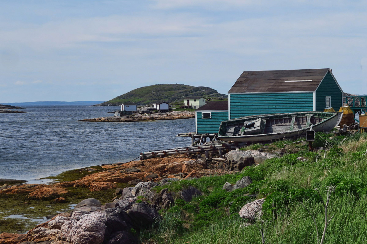 Most properties were donated to the Battle Harbour Trust who now maintains the island, but a few families kept their homes and use them seasonally.