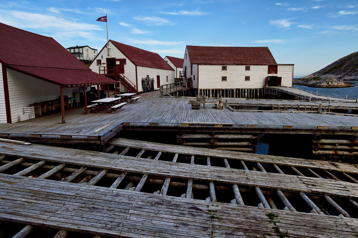 Even the ramps at the dock have been restored to look as they did during the fishing industry heyday.