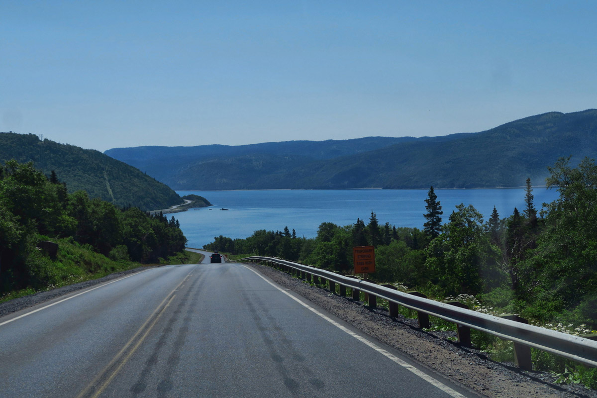Highway 430, which traverses north as the Viking Trail, is just a gorgeous drive through Gros Morne National Park.