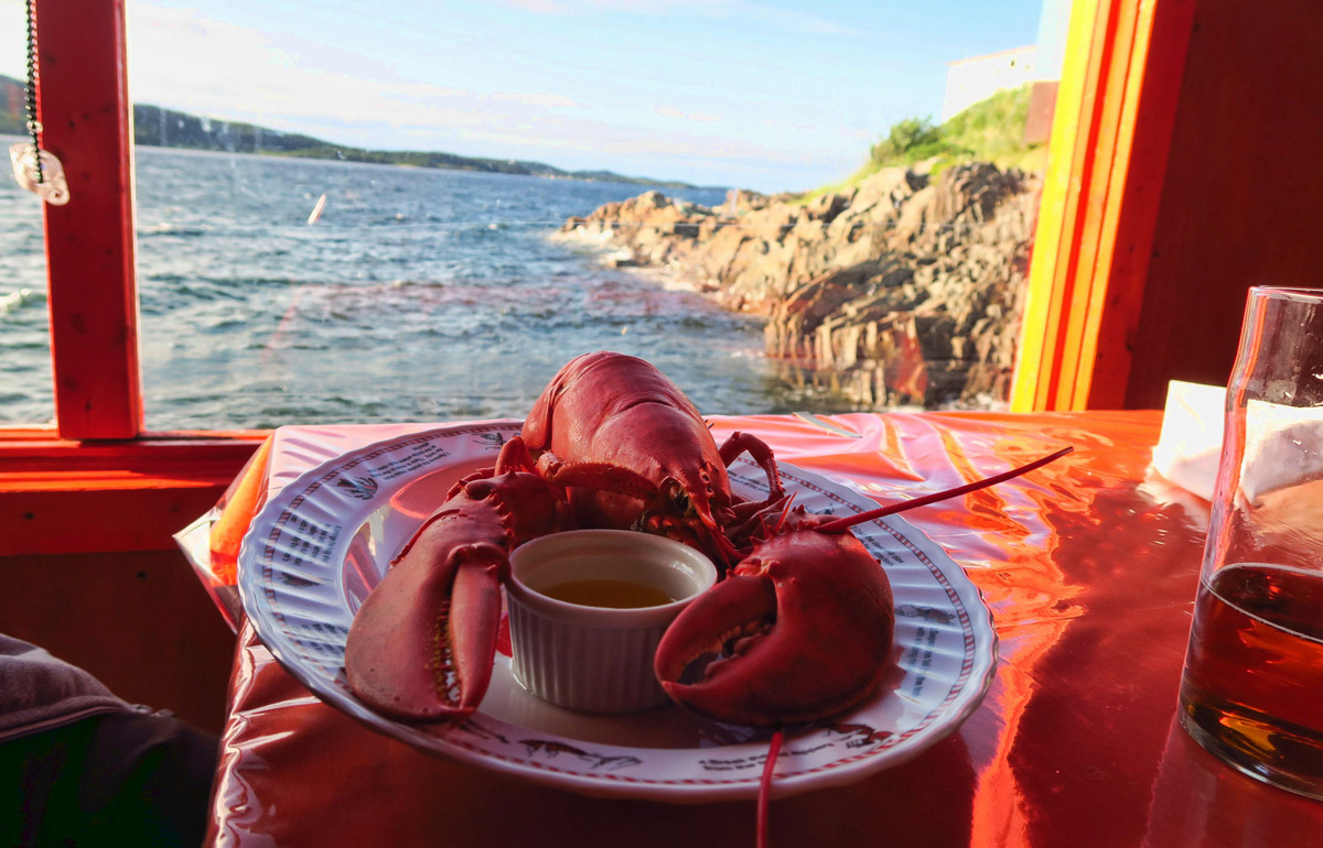 This didn't come from Chelseas, though. It was from Trip Advisor's recommended Doyle Sansome's Lobster Pool about 10 miles outside Twillingate.