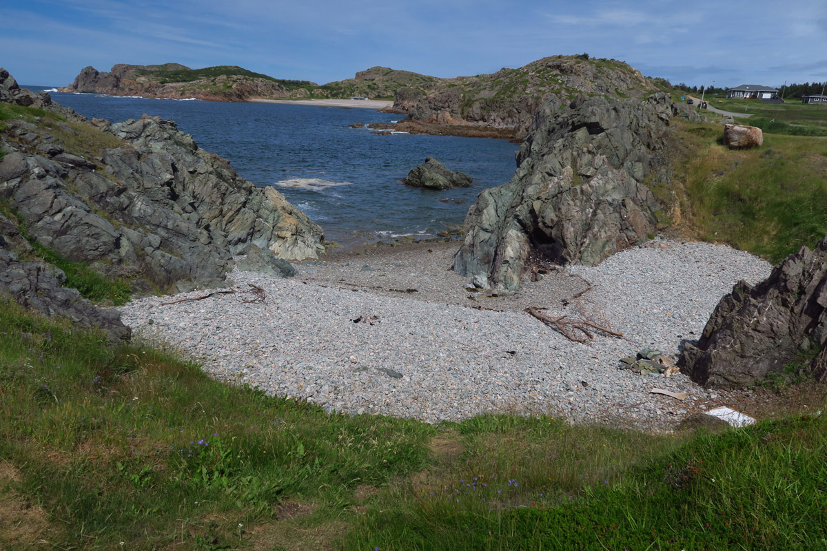 French Beach, on the outskirts of Twillingate.