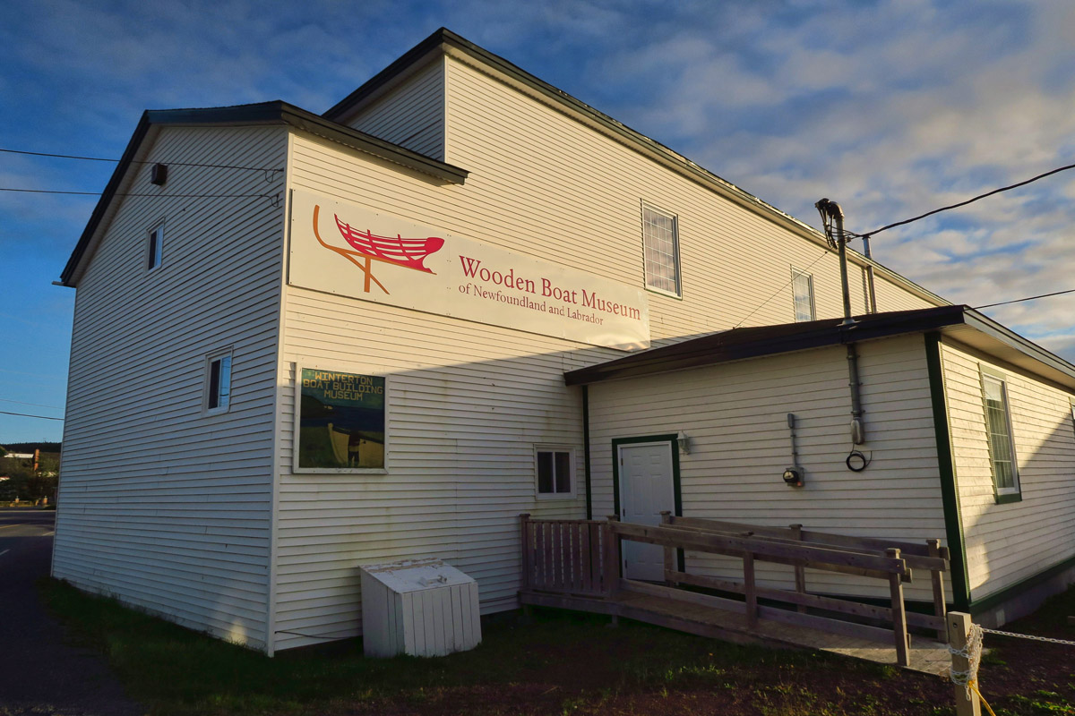 Newfoundland and Labrador's Wooden Boat Museum.