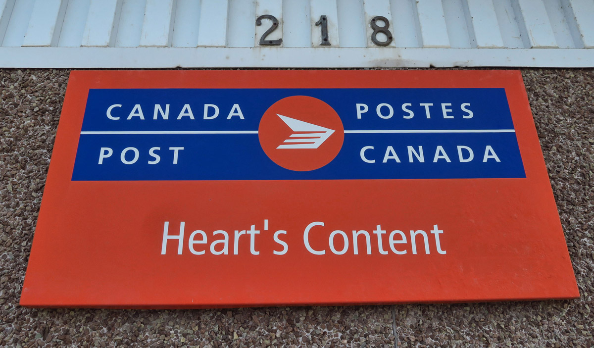 """I just love this town's name, obviously. Can you imagine having """"Heart's Content"""" as your postal address?"""