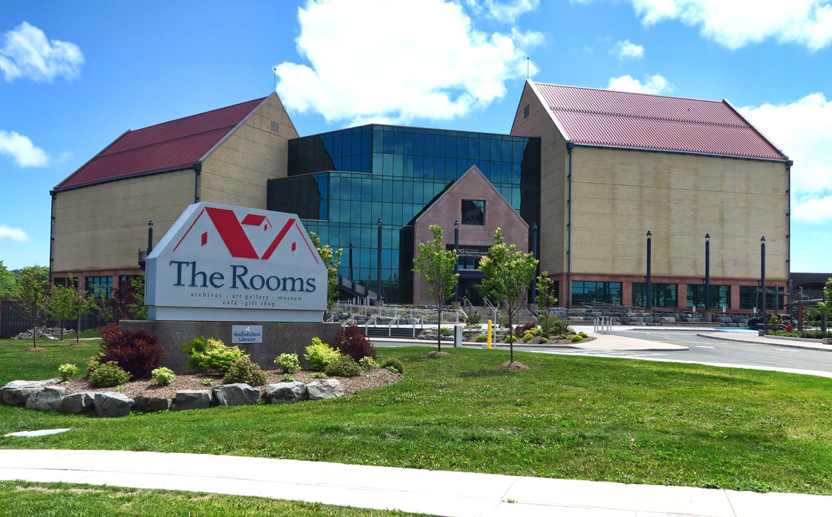 The Rooms Museum and Cultural Center, built 2005.