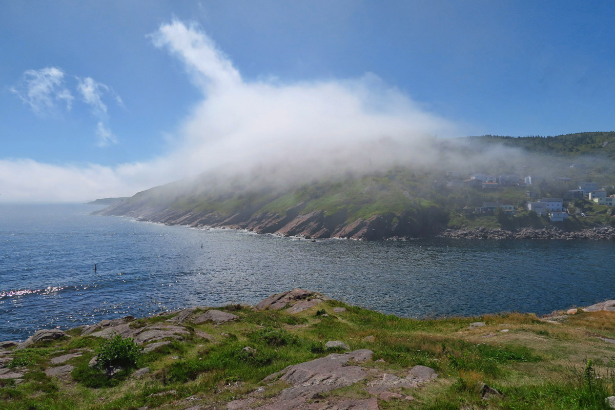 Fog is a common site along the Avalon Peninsula.