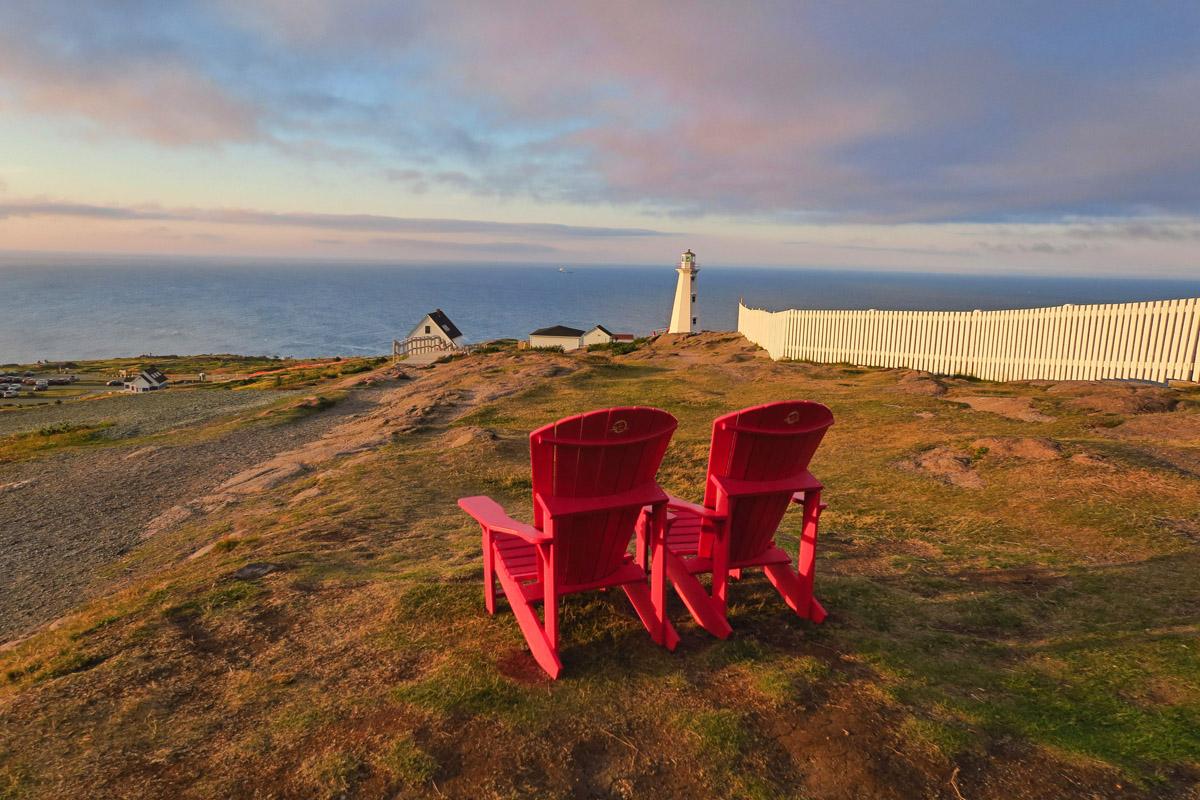 Cape Spear Lighthouse near St John's.
