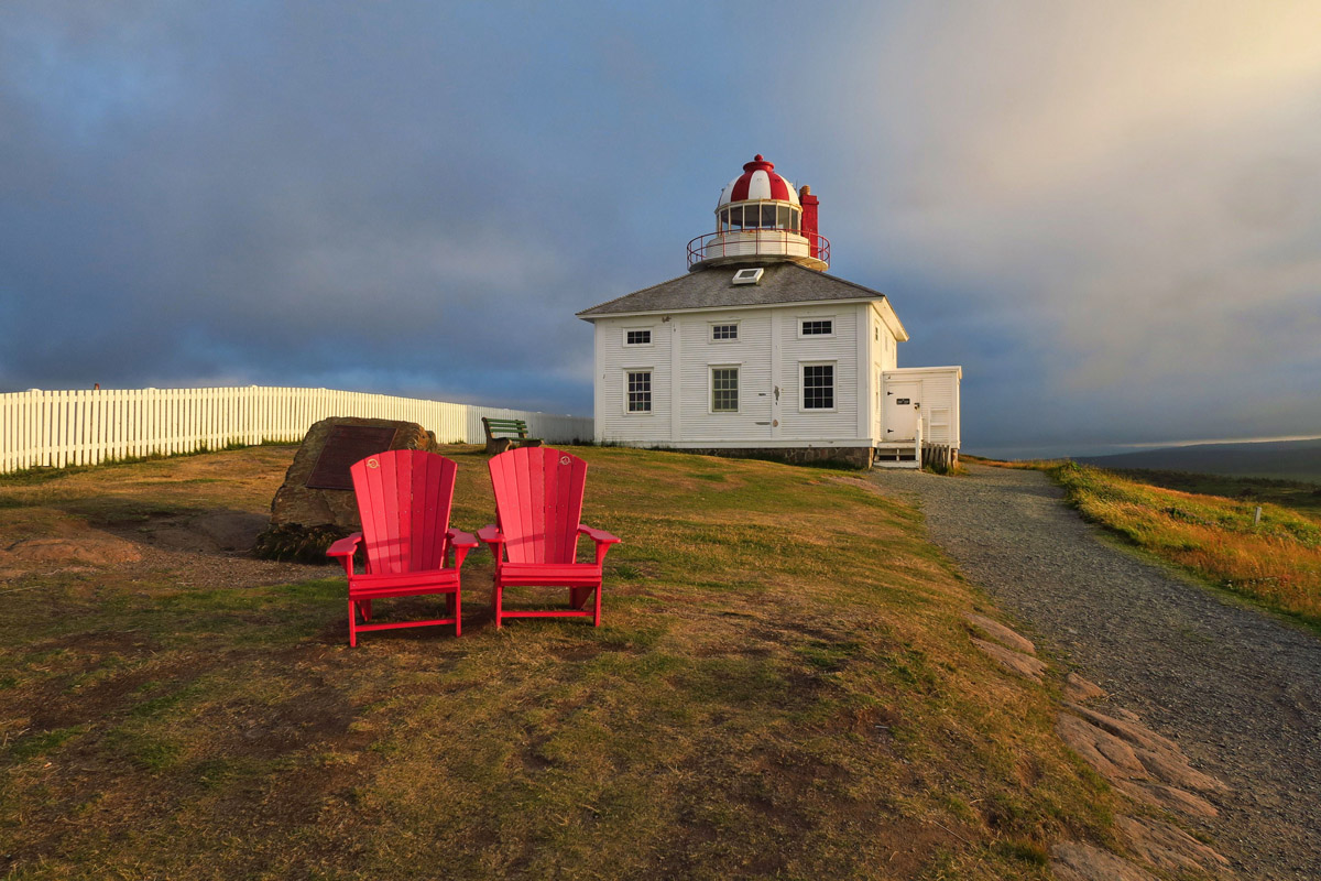 "Canada National Parks has a campaign underway, The Red Chair Challenge, with the slogan ""We've Saved you a Seat!"""