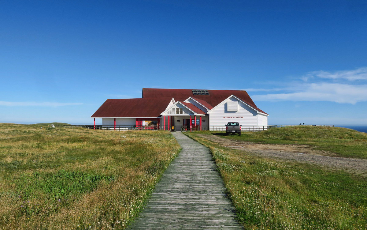 Cape St. Mary's Interpretive Center.