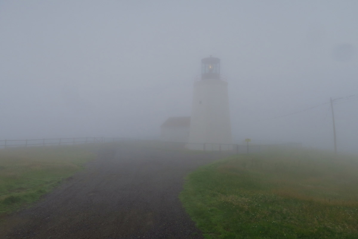 Why there is also a fog horn...