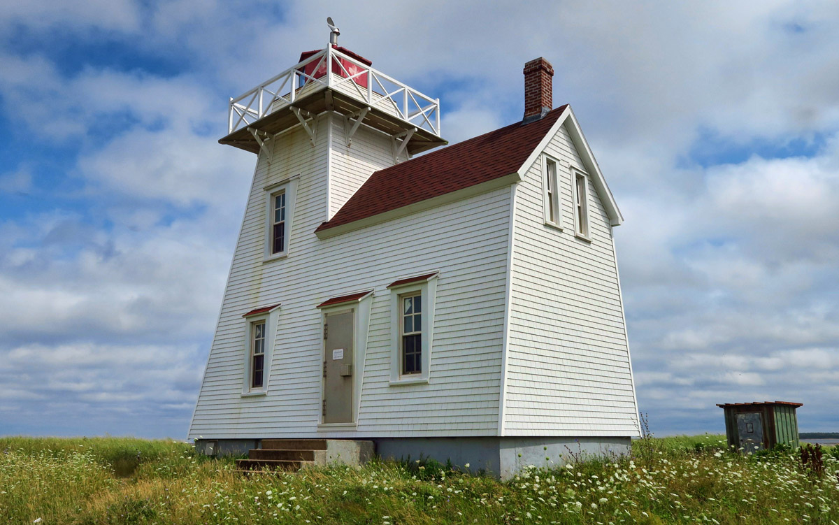 North Rustico Harbour Light, built 1899