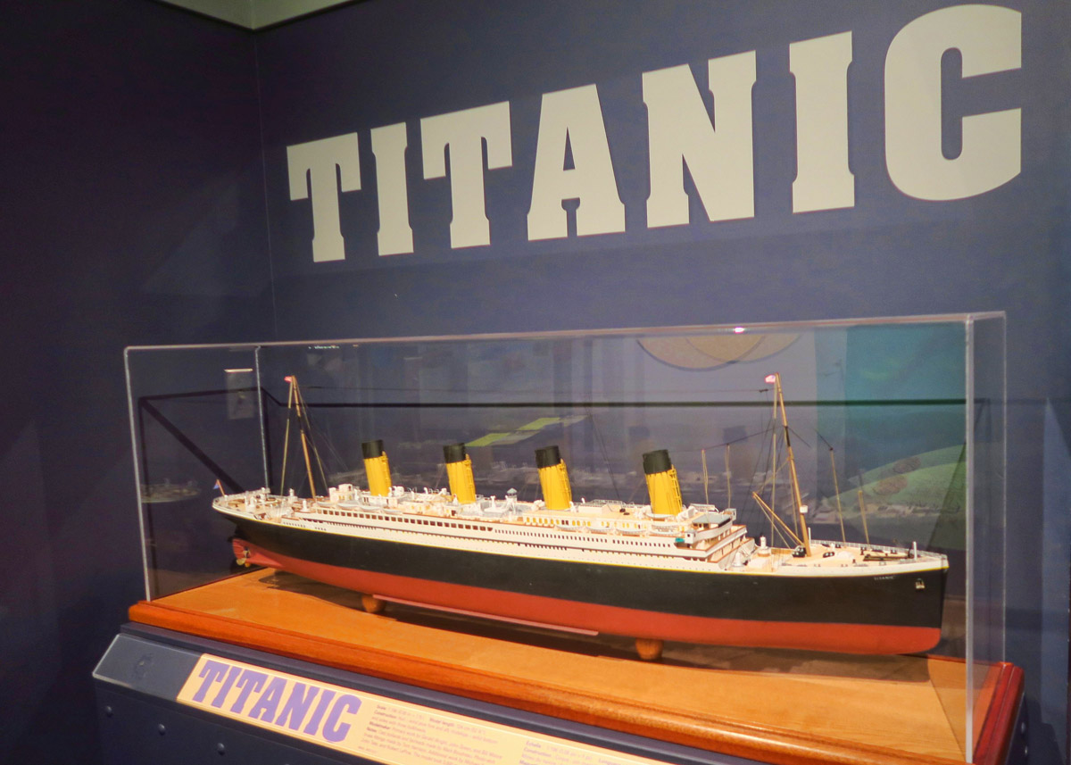 I wanted to stop in Halifax to tour the Titanic exhibit in the Maritime Museum of the Atlantic, oldest and largest maritime museum in Canada. The Titanic is a permanent exhibit containing the largest number of wooden artifacts recovered.
