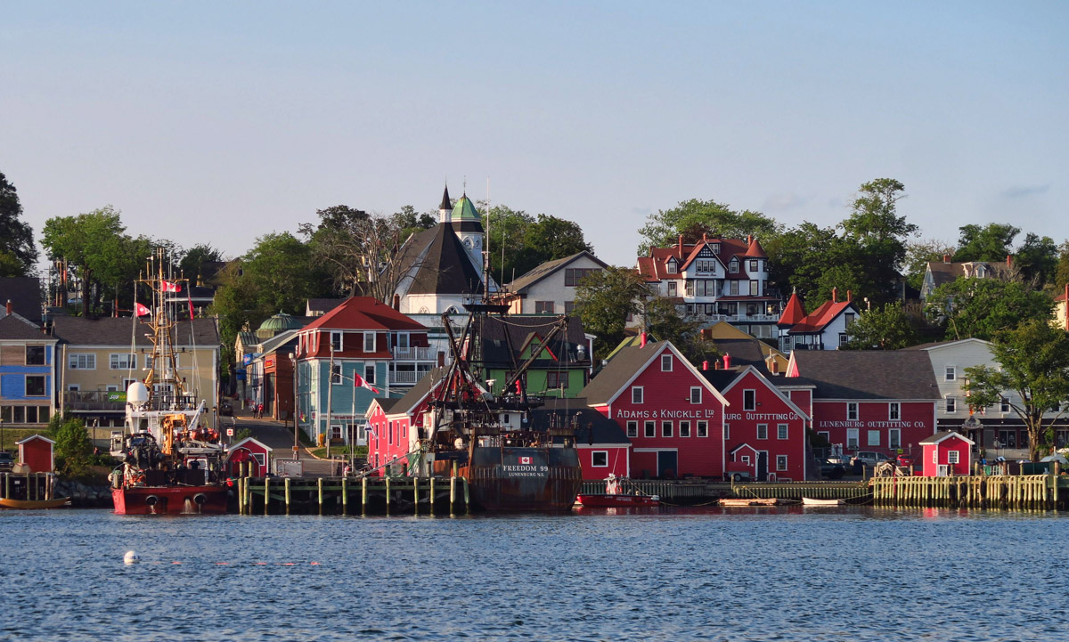 Old Town Lunenburg is one of only two urban communities in North America designated as a UNESCO World Heritage site. Seventy percent of the colonial buildings are original from the 18th and 19th centuries.
