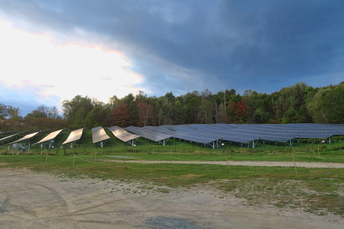 Ben & Jerry's has quite an impressive solar array.